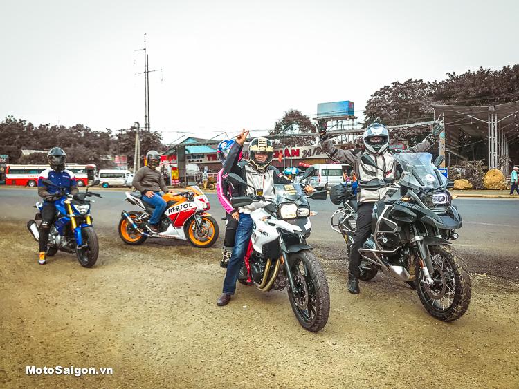 Toàn cảnh dàn moto BMW hội tụ đi tour offroad Thác Mai