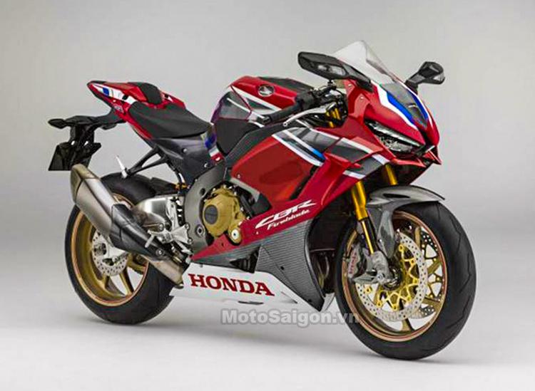 Honda CBR1000RR 2019 trang bị động cơ V4 lộ ảnh concept