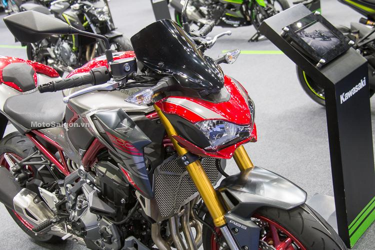Kawasaki Z900 2019 ra mắt màu mới phiên bản đặc biệt