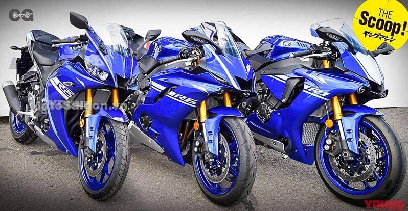 Yamaha R3 2019 lộ thiết kế mới tương tự R6