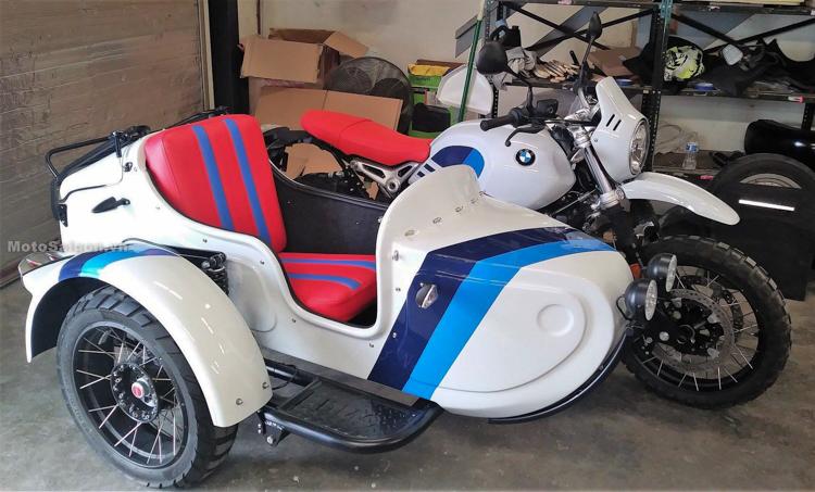 BMW R NineT Urban G/S độ phong cách Sidecar tuyệt đẹp