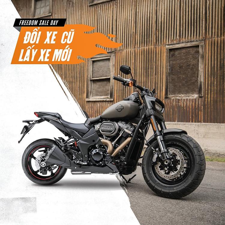 Đổi xe cũ - Lấy xe mới Harley-Davidson không phân biệt thương hiệu