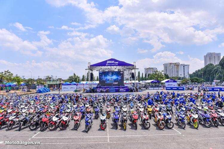 Giải đua xe Yamaha GP 2018 được tổ chức chung với Đại hội Exciter 2018 cùng dịp ra mắt xe mới Exciter 150 2019