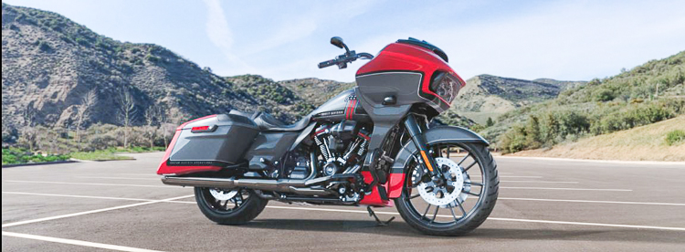 Harley-Davidson CVO Road Glide 2019 Red Pepper & Magnetic Grey With Black Hole