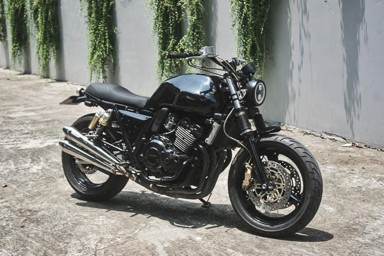 Honda CB400 độ Street Tracker nhẹ nhàng đầy lịch lãm ...