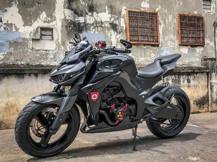 Honda Hornet 250 độ Z1000 tuyệt đẹp với chi phí cực sốc