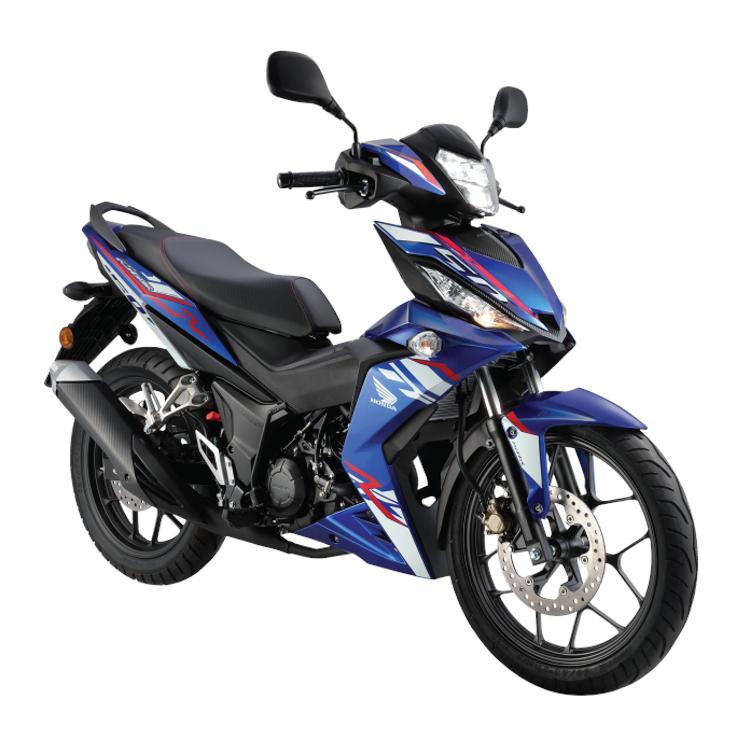 Honda Winner 150 2018 màu Xanh dương - Pearl Nightfall Blue