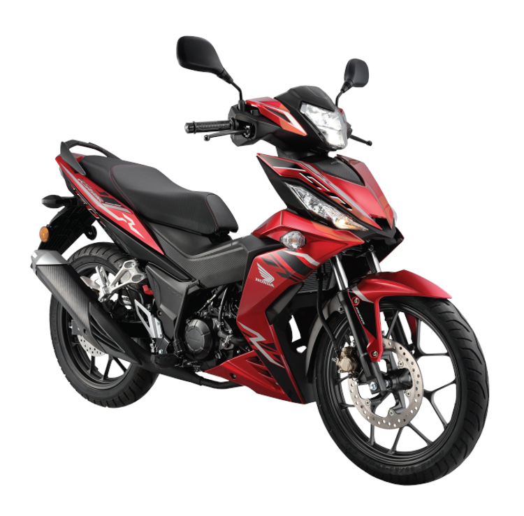 Honda Winner 150 2018 màu Đỏ - Candy Scintillate Red