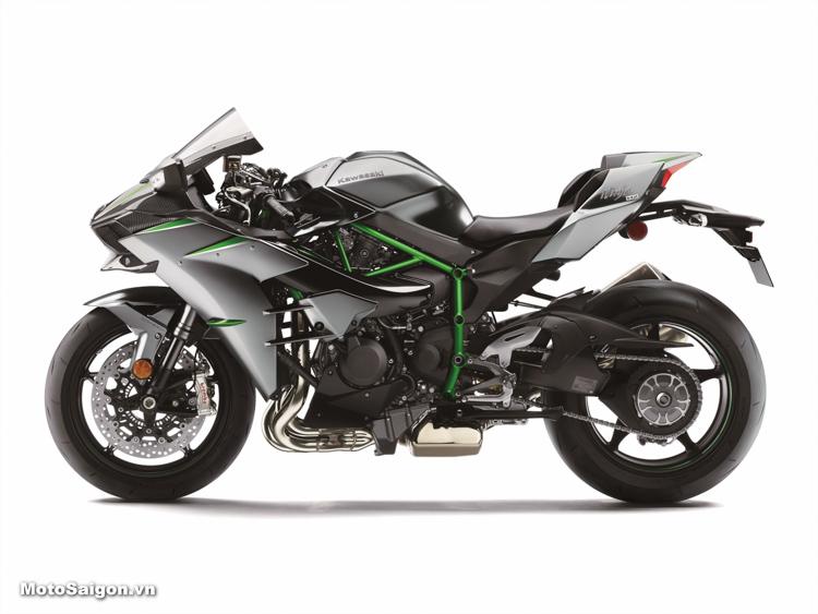 Kawasaki Ninja H2 2019 sắp ra mắt công suất tối đa đến 228HP