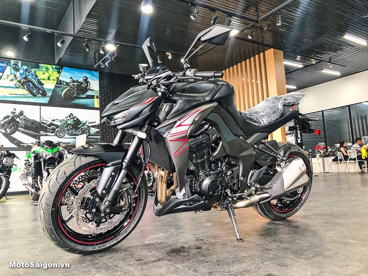 Kawasaki Z1000 2019 và Z1000R 2019 màu mới về Việt Nam