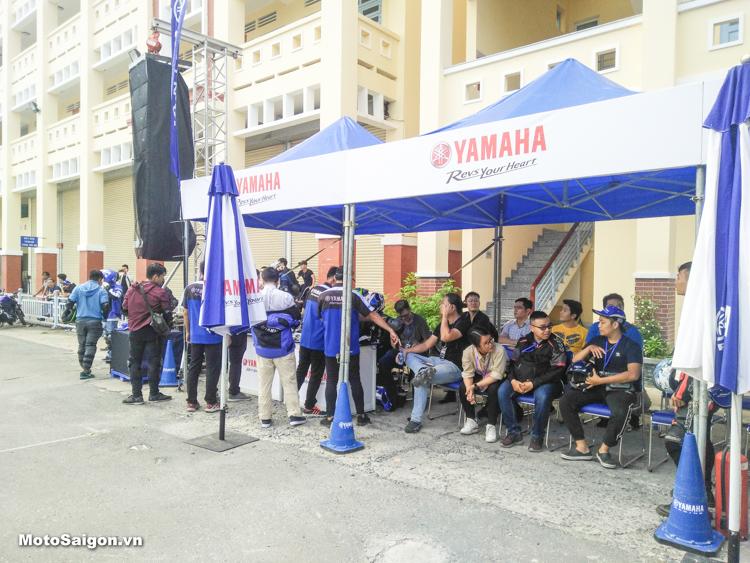 Toàn cảnh ngày lái thử các mẫu xe moto Yamaha chính hãng
