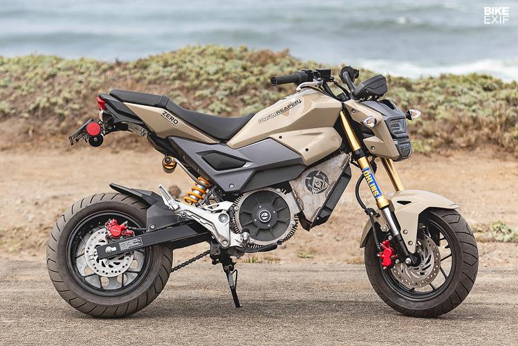 Honda MSX125 độ động cơ điện mạnh mẽ ngang Kawasaki Z900