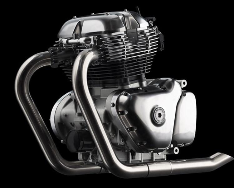 Hai mẫu xe mới của Royal Enfield động cơ xilanh đôi 650cc sắp có giá bán