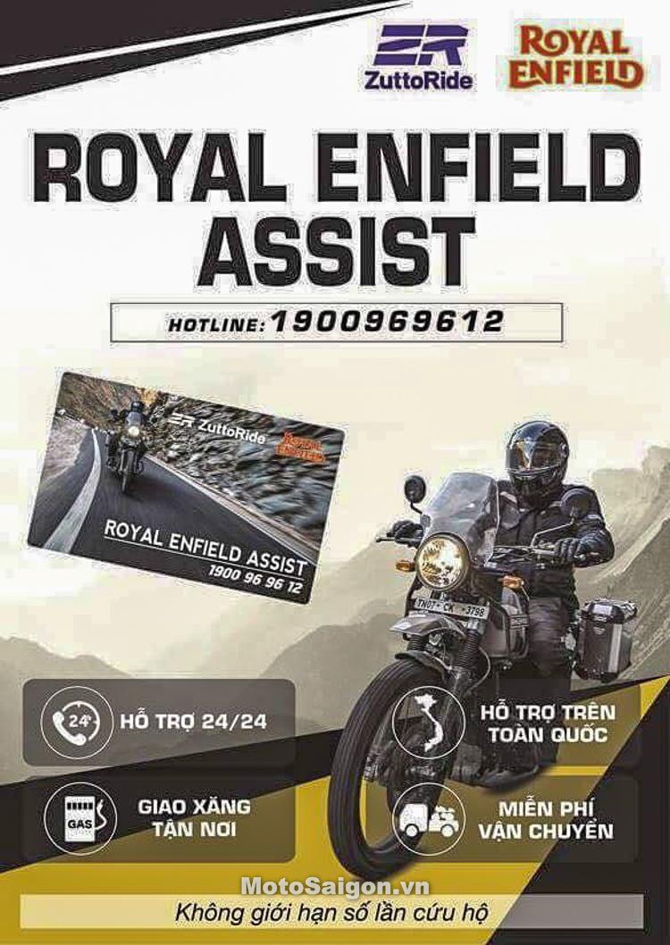 Royal Enfield Việt Nam hợp tác ZuttoRide gói cứu hộ xe 2 năm cho Himalayan