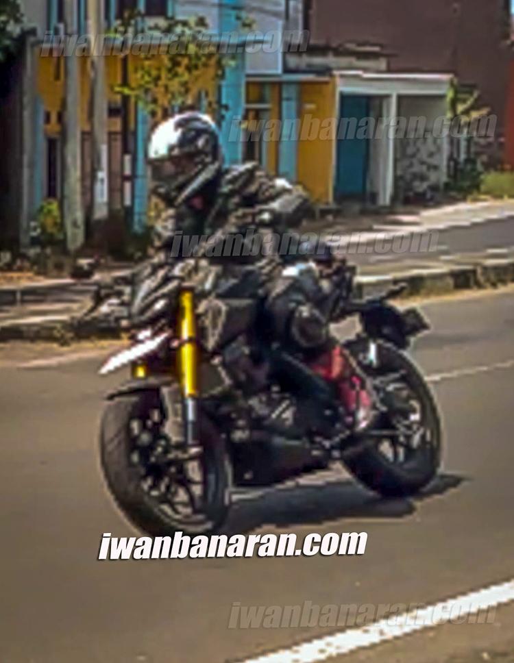 Lộ hình ảnh Yamaha TFX 150 2019 trên đường chạy thử ở Indo