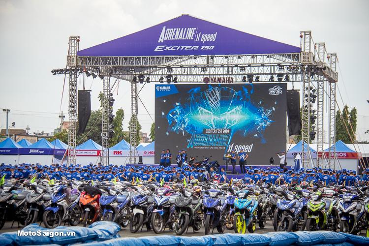 Đại hội Exciter Festival 2018 quy tụ hàng ngàn Biker miền Nam