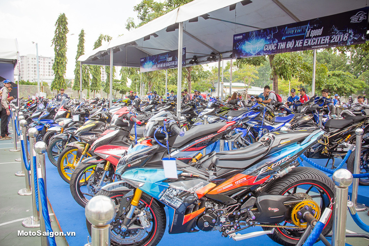 Admire the most beautiful Yamaha Exciter 150 Series 2018