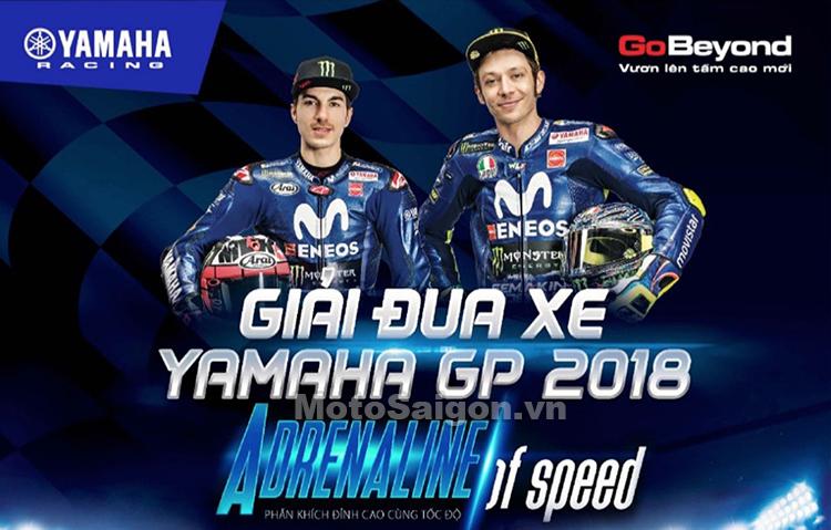 Giải đua xe Yamaha GP 2018 kết hợp Đại hội Exciter Festival tại TPHCM
