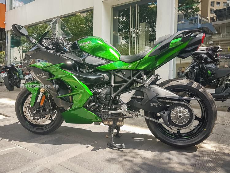 Kawasaki Ninja H2 SX SE đầu tiên về Việt Nam