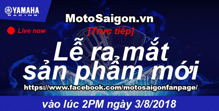 Trực tiếp Lễ ra mắt mẫu xe mới của Yamaha Việt Nam