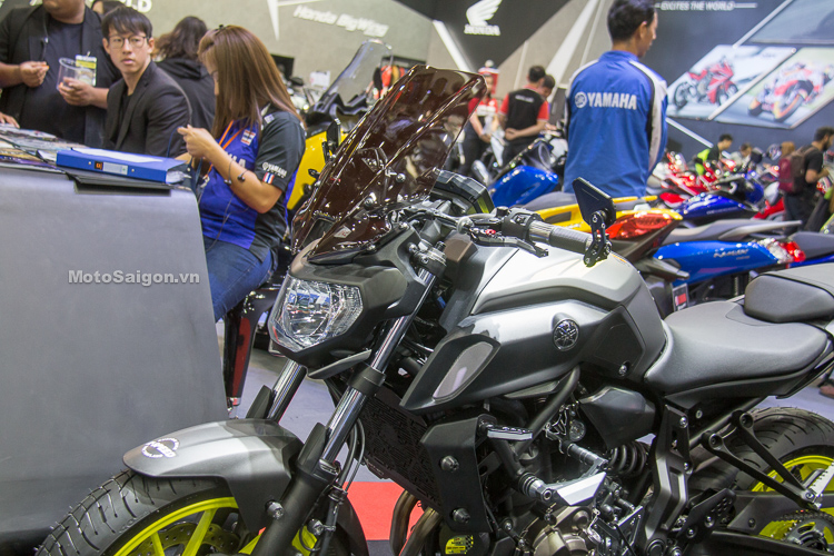 Yamaha MT-07 2018 Ful đồ chơi MotoSaigon.vn
