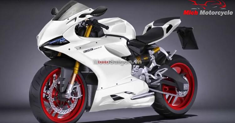 Ducati Panigale 353 hoàn toàn mới sắp ra mắt?