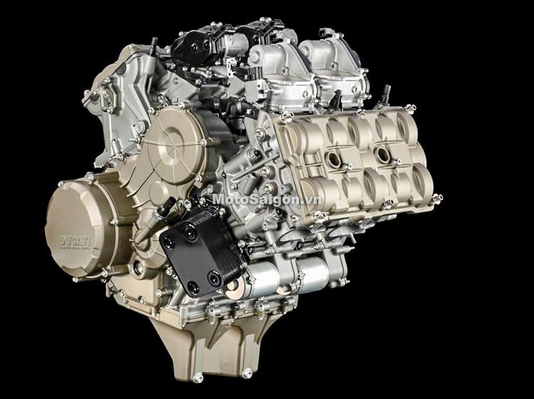 Động cơ V4 của Ducati Panigale V4
