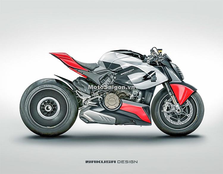 Ducati StreetFighter V4 sử dụng động cơ khủng sắp ra mắt?