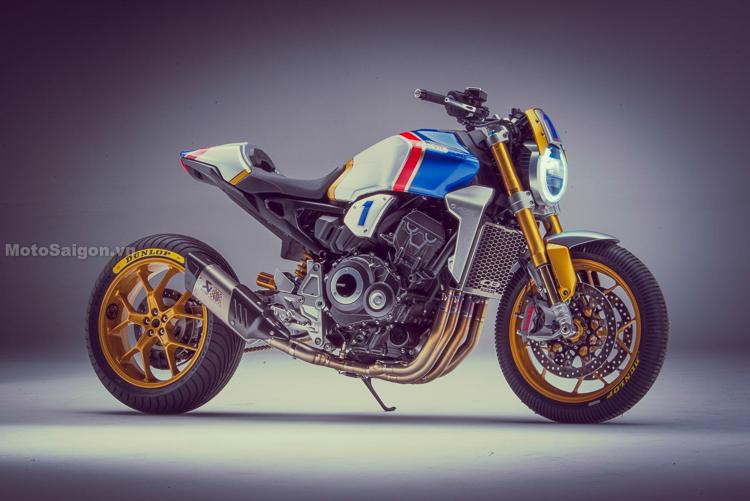 Chiêm ngưỡng bản độ tuyệt đẹp Honda CB1000R tham dự Glemseck 101 2018