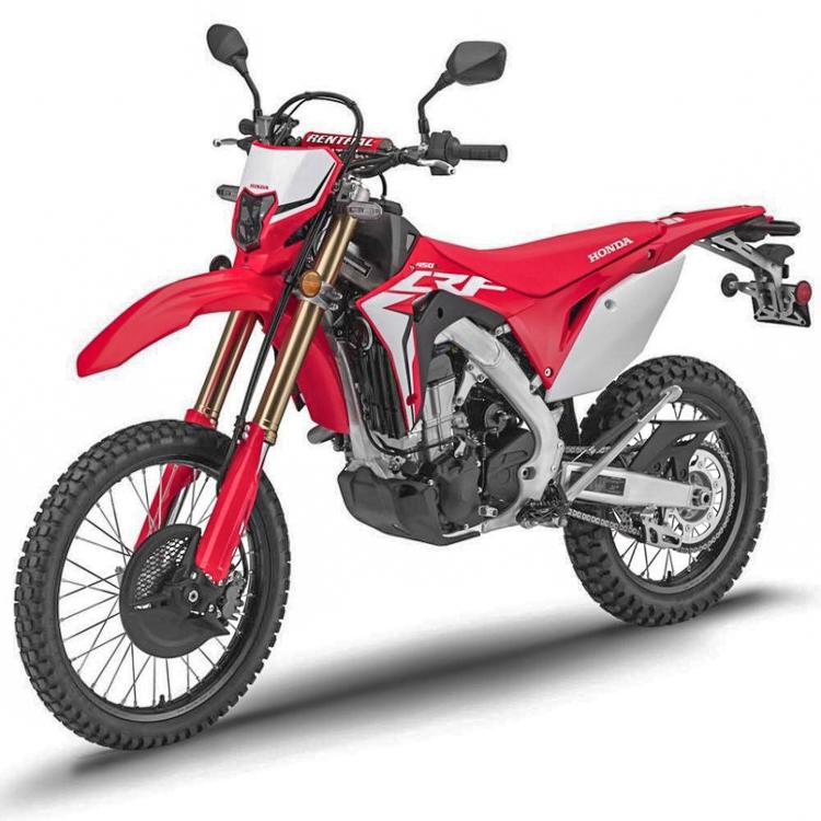 Đã có giá bán Honda CRF450L 2019 phiên bản Enduro