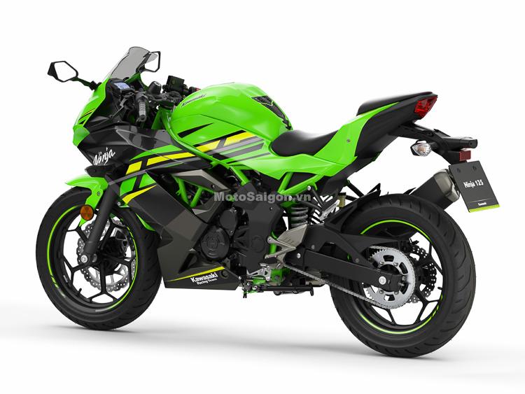 Kawasaki Ninja 125 chính thức lộ diện Sắp có giá bán