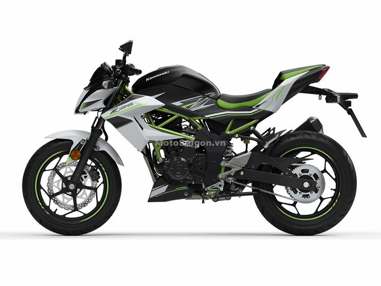 Kawasaki Z125 2019 chính thức ra mắt Sắp về Việt Nam