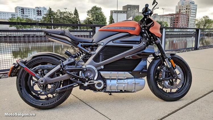 LiveWire Xe moto điện Harley-Davidson ra mắt vào năm 2019