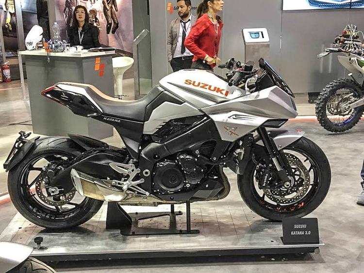 Suzuki Katana 2019 chính thức tái xuất vào đầu tháng 10