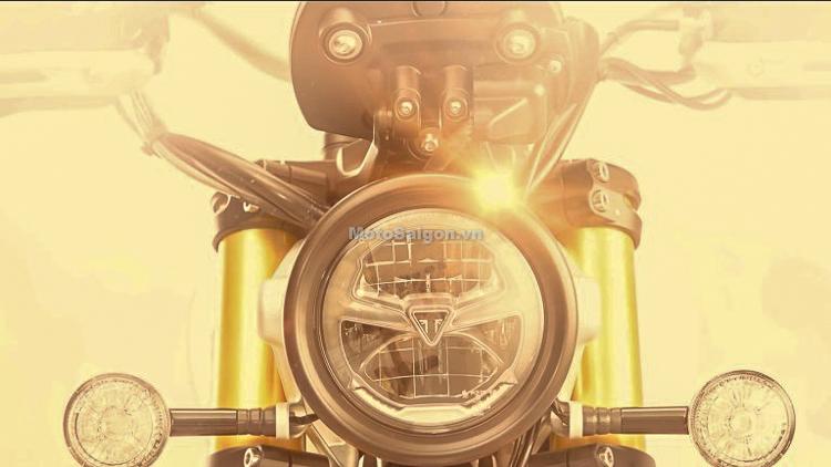 Triumph Scrambler 1200 2019 hoàn toàn mới sắp ra mắt