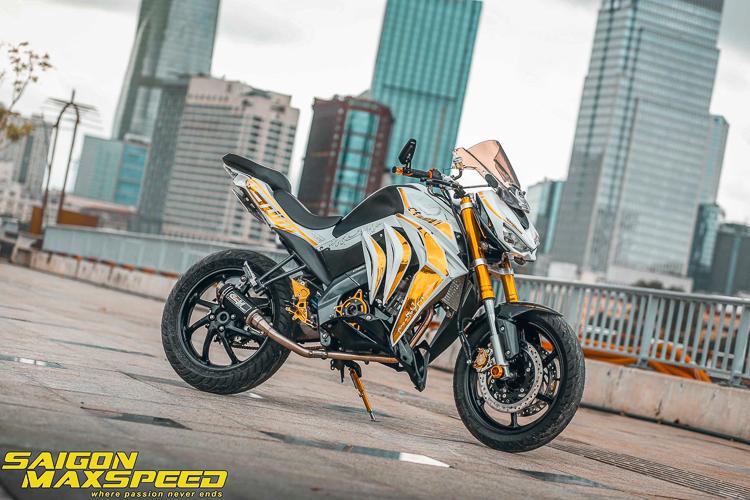 Yamaha FZ150i độ phong cách Z1000 với gắp đơn cực kỳ độc đáo