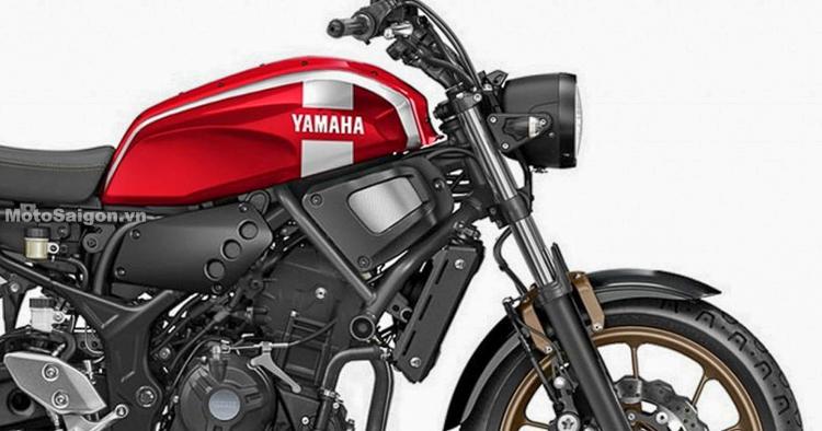 Yamaha XSR300 đàn em của XSR900 trang bị động cơ R3?