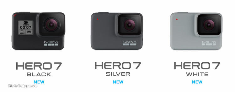 GoPro Hero 7 Black White Silver