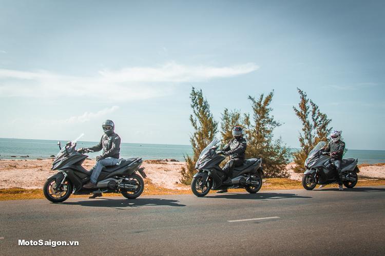 Hành trình trải nghiệm KYMCO AK550 từ TPHCM đi Đà Nẵng - Buôn Ma Thuột - TPHCM