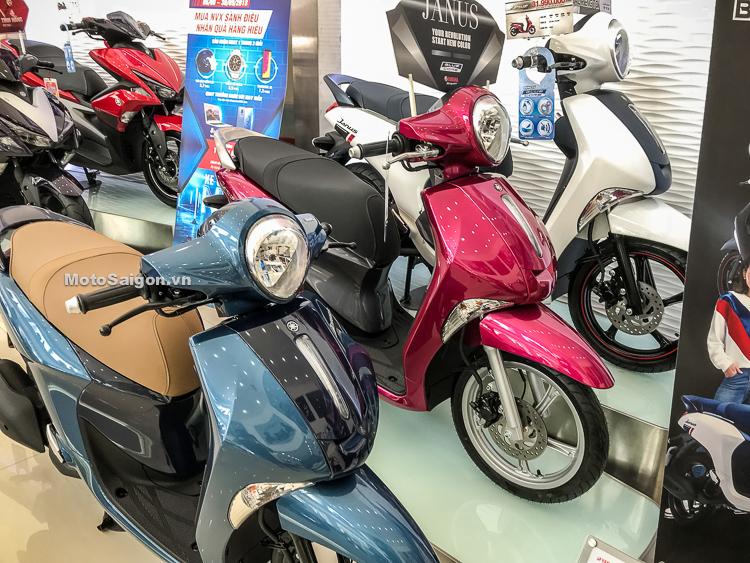 Giá xe Yamaha Janus Limited phiên bản giới hạn đủ 3 màu sắc