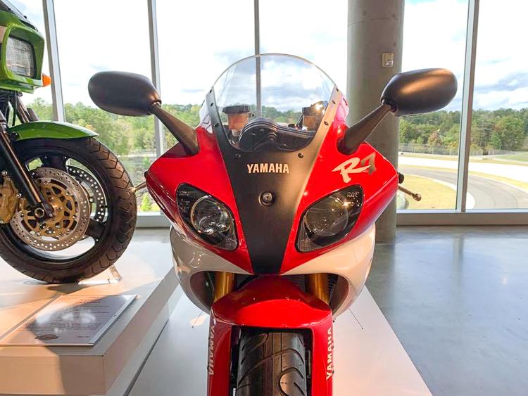 Ngắm Yamaha R7 cùng dàn xe trong Bảo tàng Moto lớn nhất thế giới tại Mỹ