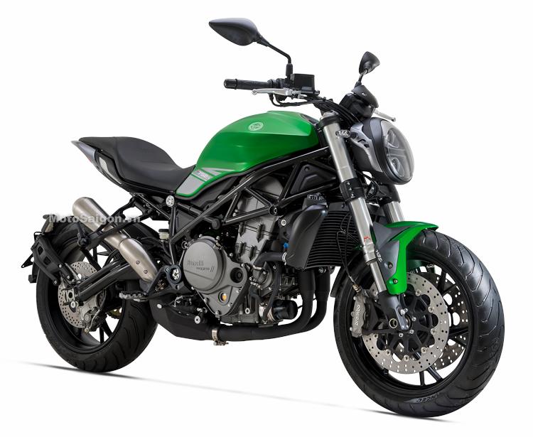 Benelli 752S mẫu nakedbike hoàn toàn mới chính thức ra mắt