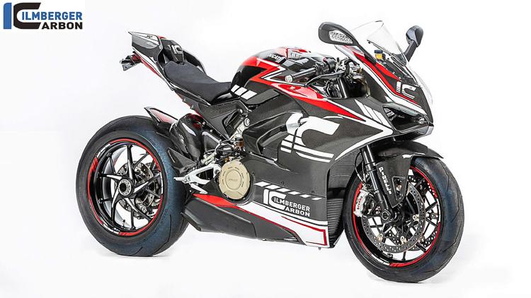 Ducati Panigale V4 lên dàn áo full carbon từ Ilmberger Carbon