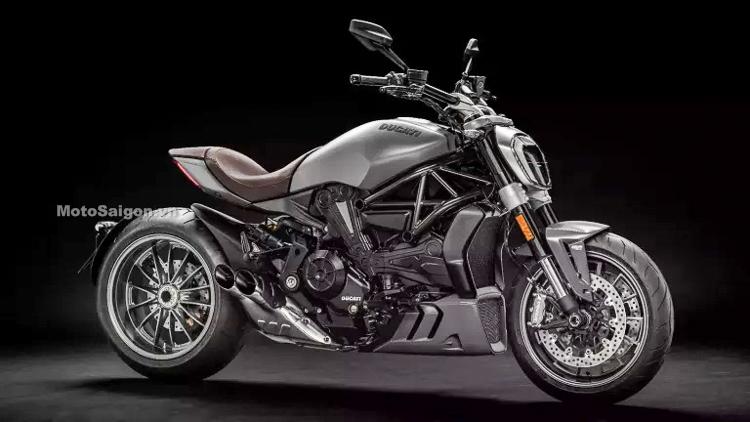 Ducati XDiavel 2019 phiên bản mới chính thức ra mắt nhiều cải tiến