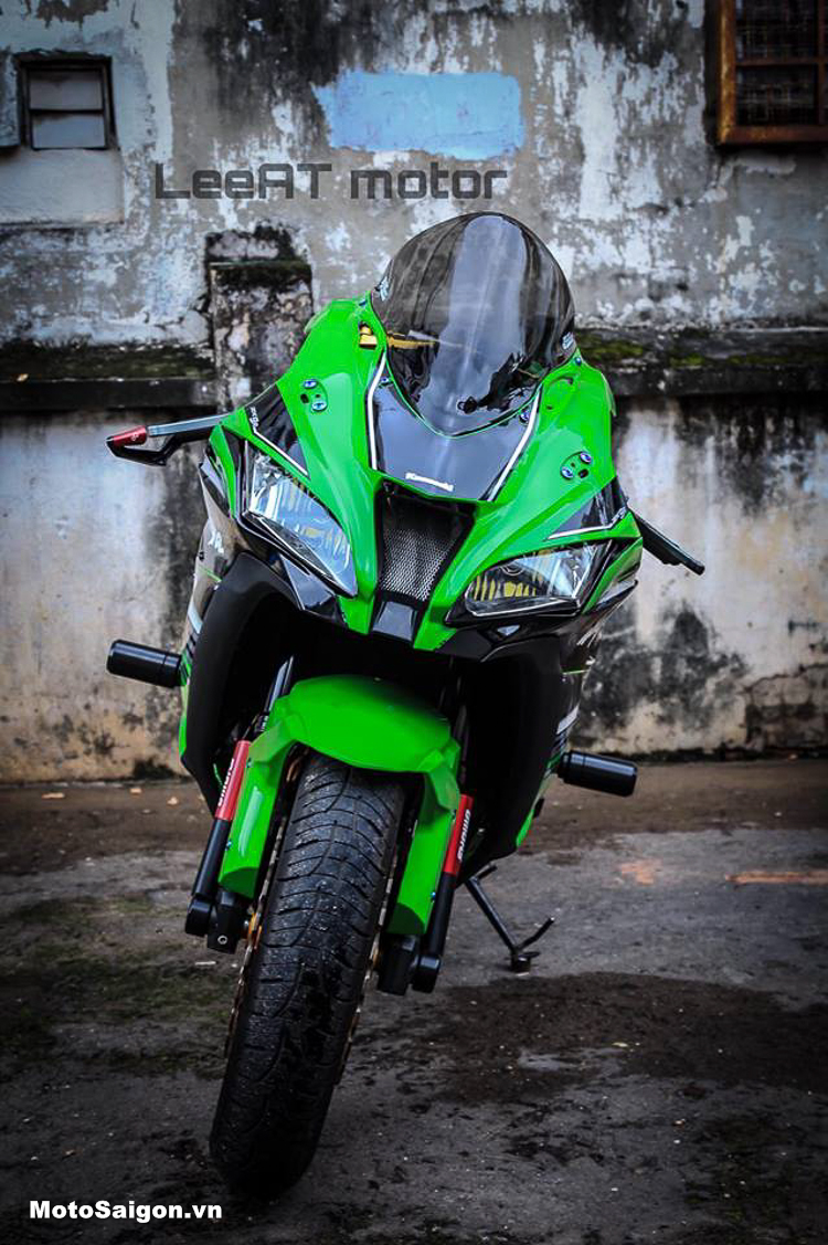 Kawasaki Z800 độ dàn áo ZX-10R cực chuẩn của LeeAT Motor