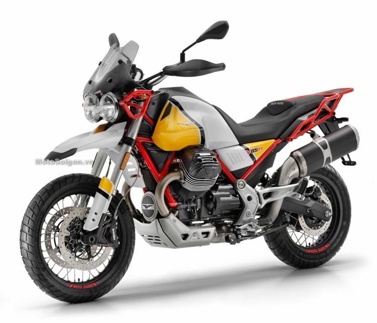 Moto Guzzi V85 TT mẫu xe Adventure chính thức ra mắt sắp có giá bán