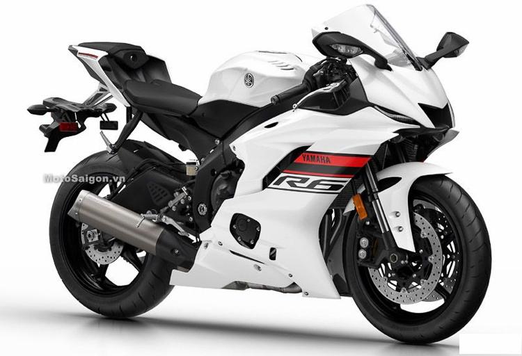 Yamaha R6 2019 màu trắng