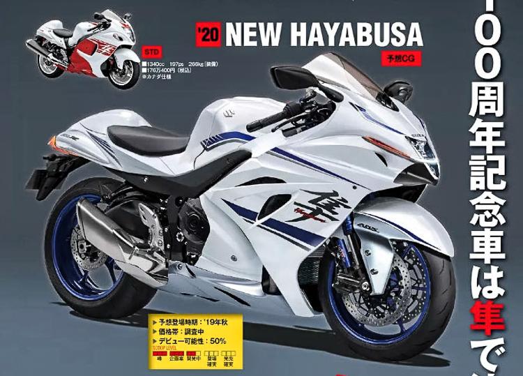 Suzuki Hayabusa 2019 động cơ Turbo tăng áp sắp ra mắt