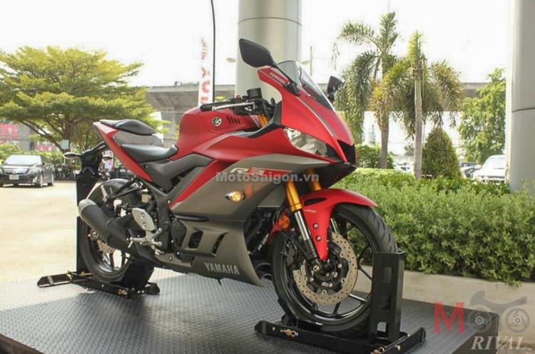 Yamaha R3 2019 hoàn toàn mới chính thức ra mắt tại Thái Lan