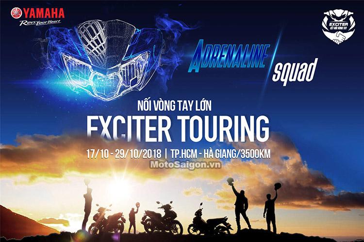 Hành trình xuyên Việt bằng Exciter 150 2019 từ TPHCM đi Hà Giang